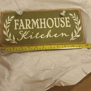 Rustic Farm 🚜  House 🏠  Kitchen Sign